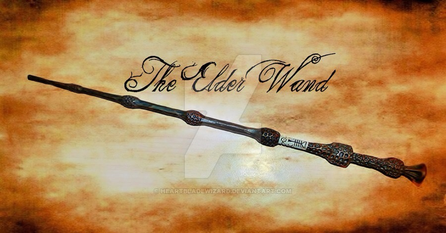 Ultimate harry potter book tag susannevalenti for Elder wand spells